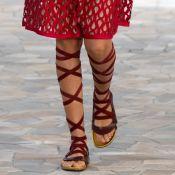 A sandália gladiadora está de volta e você vai se apaixonar. Inspire-se!