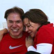 Silvio Santos ganha carinho da mulher em fotos da filha Patricia Abravanel. Confira!