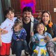 Patricia Abravanel adotou método na criação dos três filhos: Pedro, Jane e Senor