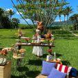 Veja decoração de festa de aniversário feita por Sorocaba para   Biah Rodrigues!