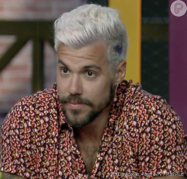 'A Fazenda 12': Lipe Ribeiro briga com Lucas Selfie por Mariano