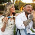 Lucas Lucco e a mulher, Lorena Carvalho, estão à espera do primeiro filho