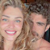 Caio Castro posa sem camisa e Grazi Massafera alfineta: 'Exibindo o tênis'. Foto!