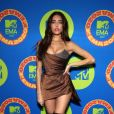Madison Beer aposta no decote com ponta da Vivienne Westwood no EMA MTV 2020!