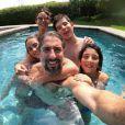 Marcos Mion é casado com Suzana Gullo, com quem tem três filhos