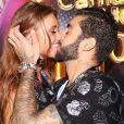 Pedro Scooby e Cintia Dicker trocaram alianças da marca Bvlgari