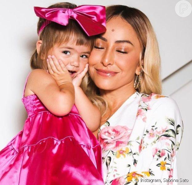 Sabrina Sato revela que filha, Zoe, já escolhe looks