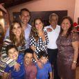 Veja foto de pai de Zezé Di Camargo com parte dos filhos e netos
