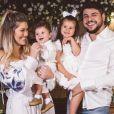 Cristiano e a família batizaram o filho caçula dele, Cristiano, em dezembro de 2020