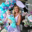 Filha de Ana Paula Siebert e Roberto Justus, Vicky já havia encantado ao surgir vestida de sereia em festa de mesversário