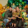 Andressa Suita postou foto de aniversário do filho Gabriel antes da separação