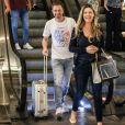 Tiago Leifert é comparado à filha em foto postada pela mulher na rede social