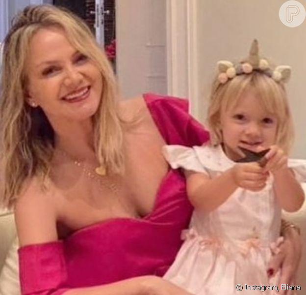 Eliana encanta os fãs ao fazer um registro da filha caçula, Manuela