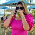 Marília Mendonça viajou ao Nordeste para curtir fim de ano