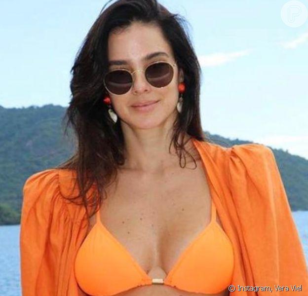 Veja fotos dos looks de verão de Vera Viel, mulher de Rodrigo Faro, e inspire-se
