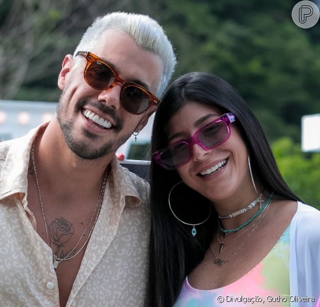 Lipe Ribeiro e Yá Burihan terminam namoro, em 16 de janeiro de 2021