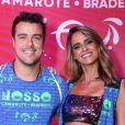 Grávida de gêmeas, Marcella Fogaça foi paparicada pelo noivo, Joaquim Lopes