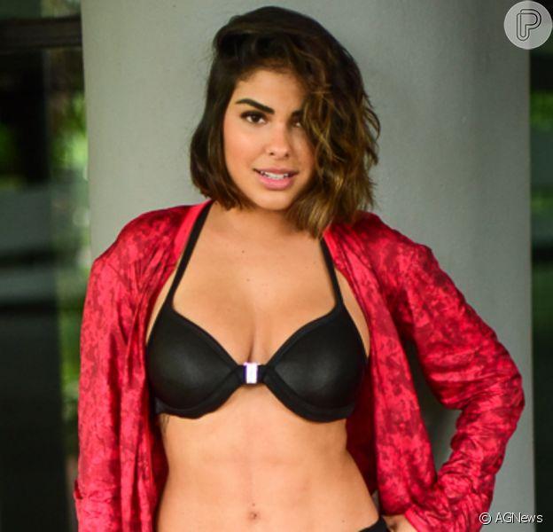 Ex-BBB Munik Nunes mostra resultado de lipo LAD em ensaio fotográfico