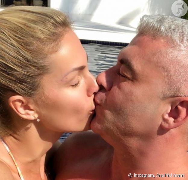 Ana Hickmann fez uma declaração romântica para o marido, Alexandre Corrêa