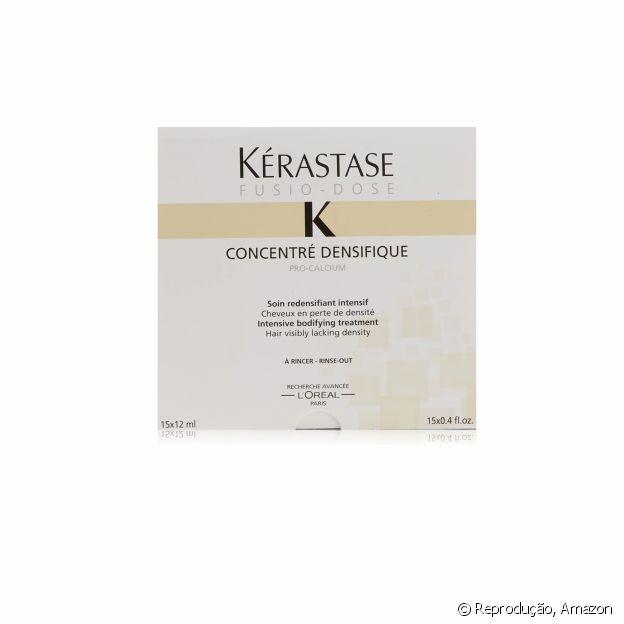 As ampolas concentradas de Kérastase são enriquecidas com ácido hialurônico
