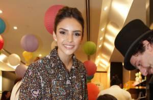 Recém-separada de Kaká, Carol Celico vai a evento de moda infantil com os filhos