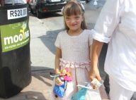 Rafaella Justus, filha de Ticiane Pinheiro, vai a aniversário em São Paulo