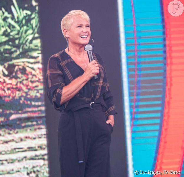 Xuxa gravou o 'Visitando o Passado', do 'Caldeirão do Huck'