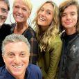 Luciano Huck recebeu Xuxa, Sasha, Junno Andrade e João Figueiredo no 'Caldeirão'