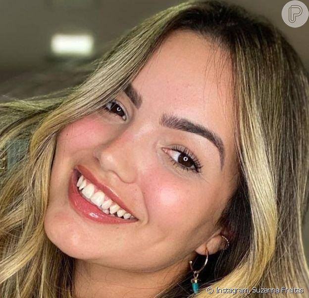 Filha de Kelly Key, Suzanna Freitas mostrou resultado da mudança visual em foto na web