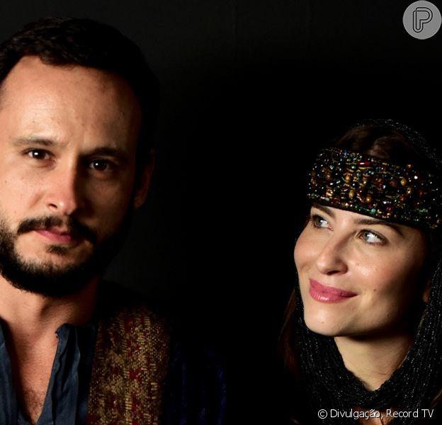Novela 'Gênesis' repete com Guilherme Dellorto e Bárbara França par de 'Amor Sem Igual'
