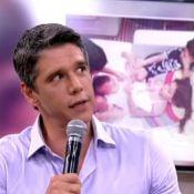 Márcio Garcia conta saia justa em voo com os filhos no 'Encontro': 'Eles brigam'