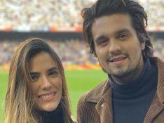 Luan Santana posta foto com a ex Jade Magalhães e empolga fãs: 'Meu 'Luade' vive'
