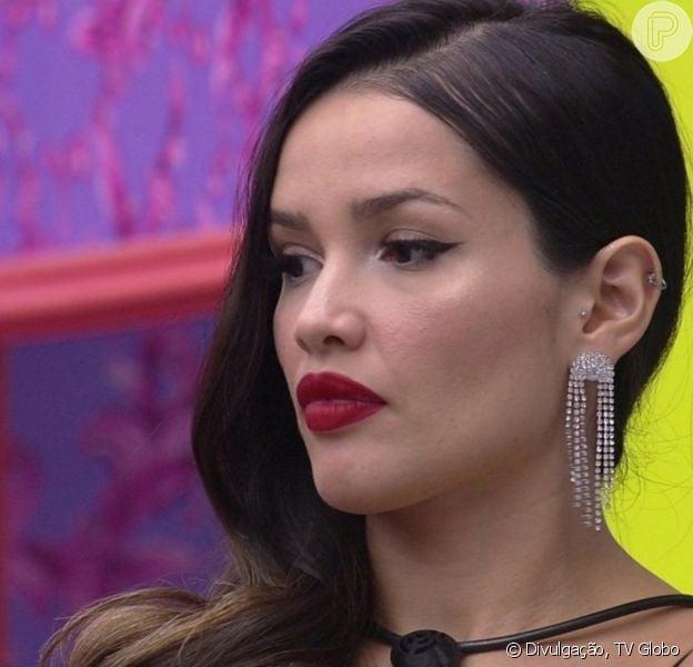 'BBB 21': maquiagem de Juliette com delineado hit conquista web. Dicas!