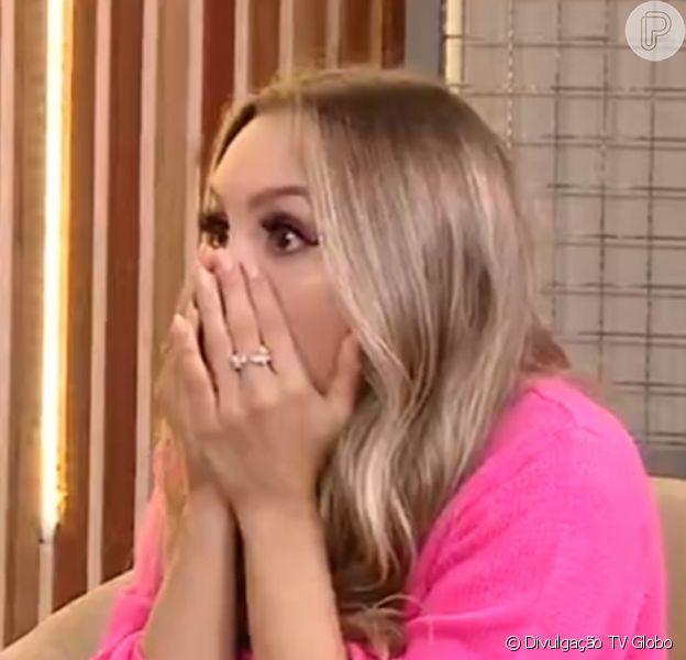 Fora do 'BBB 21', Carla Diaz se chocou com alta rejeição de Karol Conká. 'Já que é pra tombar, tombei'