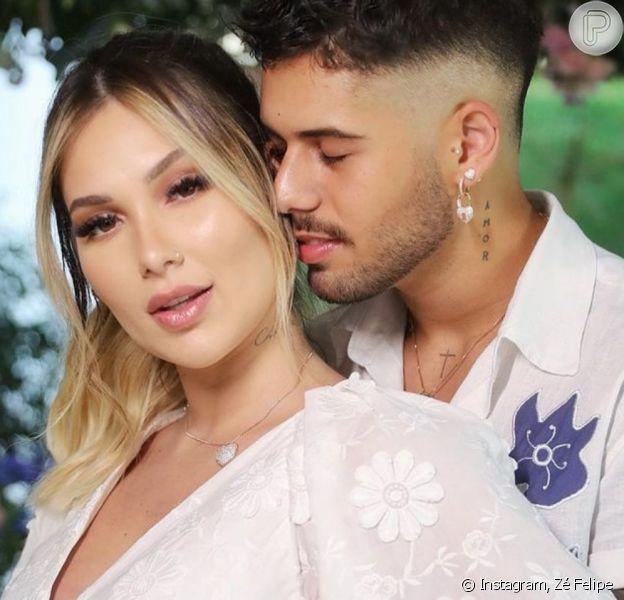 Zé Felipe e Virgínia anunciam casamento e influencer mostra reação de Leonardo. Veja!
