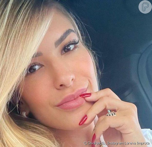 Lorena Improta falou sobre os enjoos que vem sentindo durante a gravidez