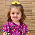 Thaeme Mariôto é mãe de Liz, de quase 2 anos, que vem chamando atenção pelo tamanho