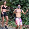 Bruna Marquezine e Enzo Celulari ainda não falaram abertamente sobre o relacionamento