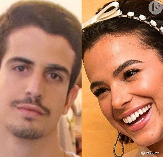 Bruna Marquezine e Enzo Celulari trocaram comentários apaixonados na rede social do empreendedor