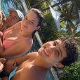 Igor Jansen e Sophia Valverde curtiram férias o Ceará em 2021