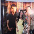Camilla Camargo não cumprimentou Flávia Camargo, mulher de Luciano, quando chegou ao show. Ela é muito amiga de Graciele Lacerda
