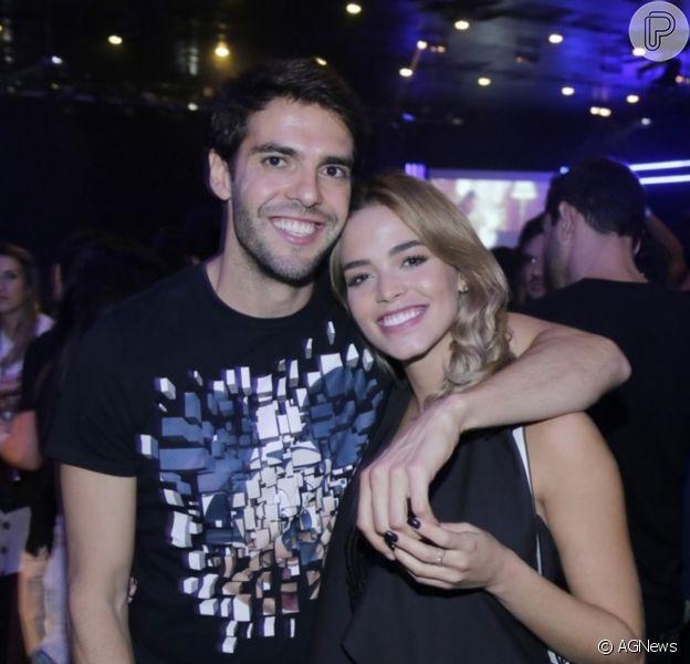 Carol Dias emocionou o marido, Kaká, com homenagem em seu aniversário de 39 anos em 22 de abril de 2021