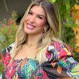 Lorena Improta, grávida pela primeira vez, notou crescimento dos seios: 'E stão saindo pela lateral'