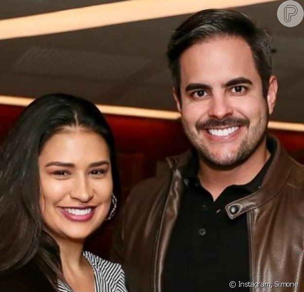 Simone foi pedida em casamento na 1ª semana de namoro com Kaká Diniz, afirma