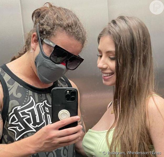 Whindersson Nunes reclama de ataques à noiva após confusão com Luísa Sonza na web