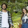 Novela 'Salve-se Quem Puder': Luna (Juliana Paiva) gaha novo amor, Alejandro (Rodrigo Simas)