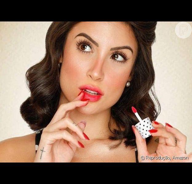 Bianca Andrade, a Boca Rosa, lançou linha de make com a Payot