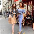 Lily Collins e Ashley Park são melhores amigas em 'Emily in Paris'