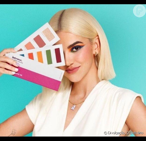 Beleza de Manu Gavassi tem maquiagem colorida, cuidados com o rosto e itens multifuncionais. Confira!