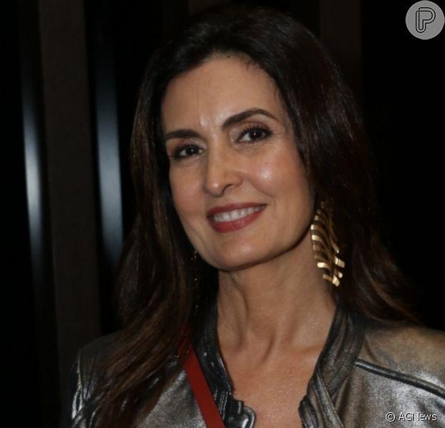 Fátima Bernardes aprovou visual barbudo de William Bonner na TV: 'Ficou bem bacana'